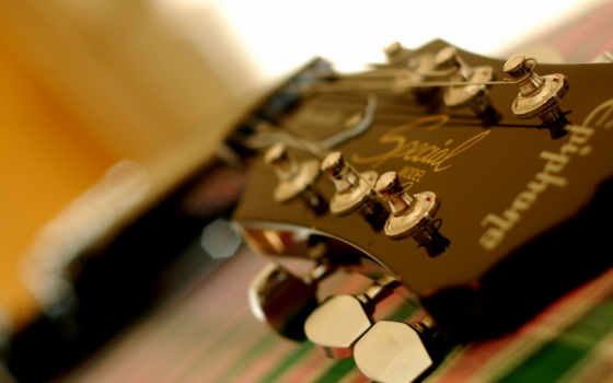 гитара, колки Фон № 32778 разрешение 1920x1200