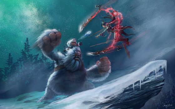 illustration, fantasy, legends