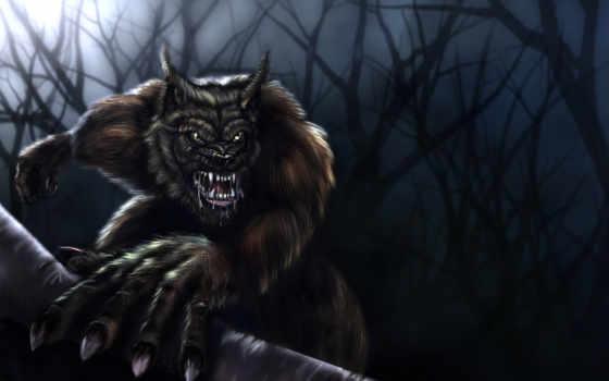 werewolf, широкоформатные, оборотни