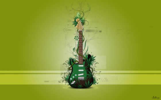 гитара, зелёный, iphone, загрузки, galaxy, телефон,