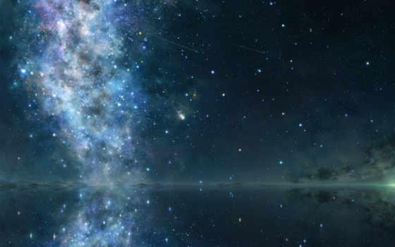 небо, cosmos, звезды