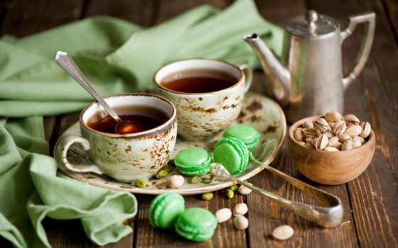 чая, еда, напитки, чашки, cup, натюрморт, cvety, cookie, картинка, фисташки,