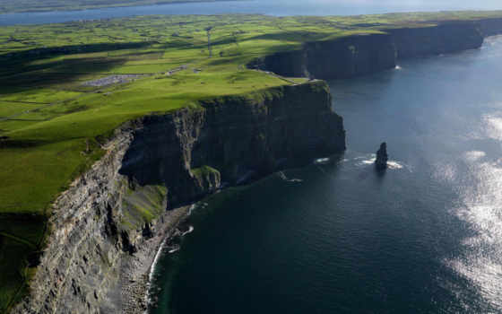 cliffs, ireland, мохер, cliff, природа, awesome, are, widescreen,