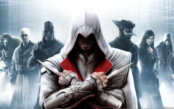 ассасин, assassin, brotherhood, эцио, creed, убийцы, мар,