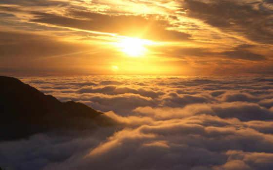 sun, со, облаками