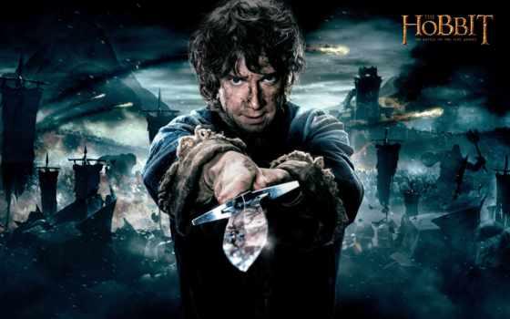 hobbit, битва, armies, пять,
