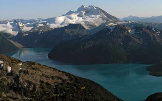 скалы, water, озеро