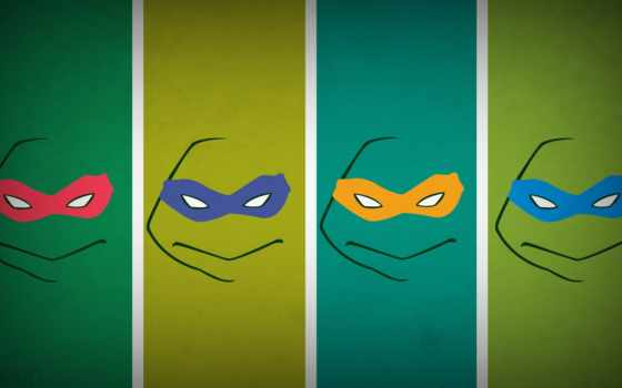 ниндзя, черепашки, teenage, ninja, turtles, mutant,