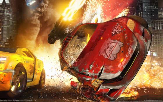 авария, огонь, смерть