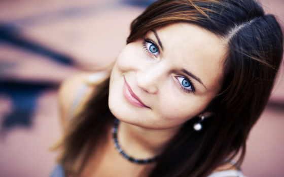 девушка, улыбка, свет, голубые, рыжая, blonde, взгляд, devushki,