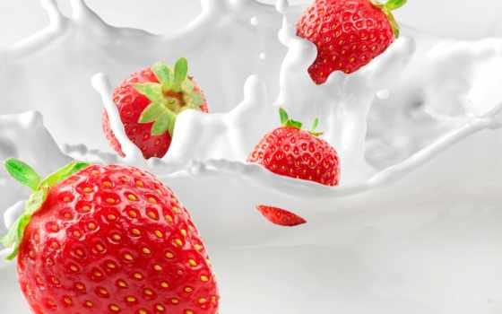 milk, photos, клубника, stock, плод, images, free, shutterstock, vectors,