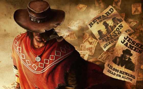 шляпа, колл, juarez, ковбой, игры, reward, сигарета, gunslinger, ковбоя, цены,