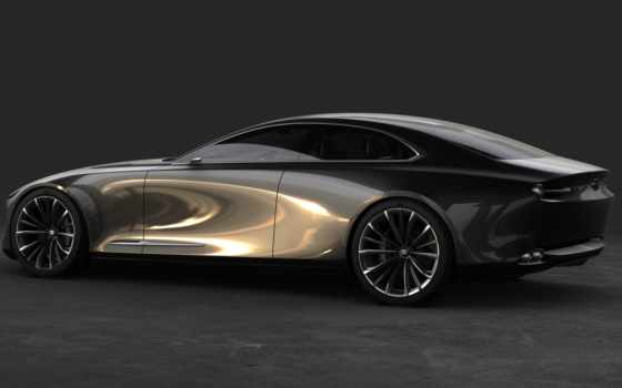 mazda, concept, new, vision, coupe