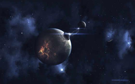 вспышка, планета, картинка, spark, you, картинку, космос, фантастика, вселенная,