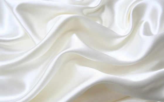 ткань, white, шелк