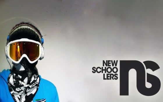 сноуборд, очки Фон № 5404 разрешение 2560x1600