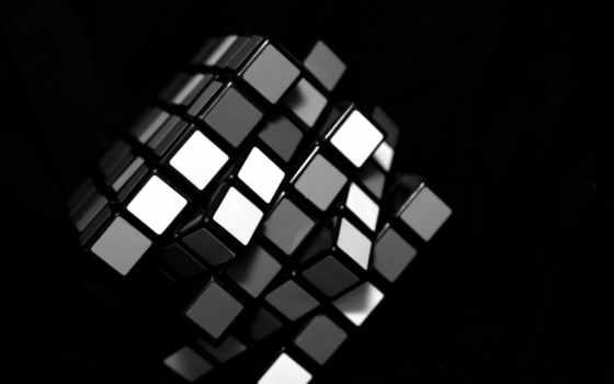 кубик, белый