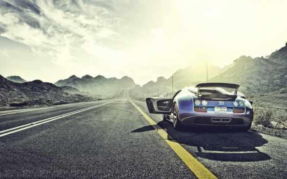bugatti, veyron, sport