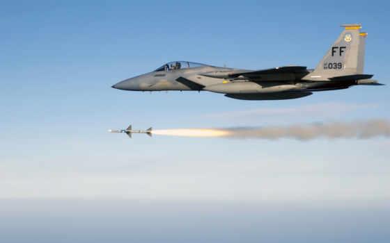 самолёт, истребитель, missiles