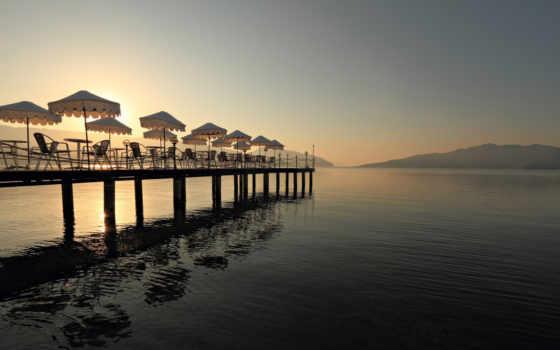 зонты, marin, eftalia, море, turkey, resort, выходные, colorful, отеле, turquie,