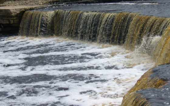 порог, категория, фон, природа, rock, модель, водопад, река, камень, ток