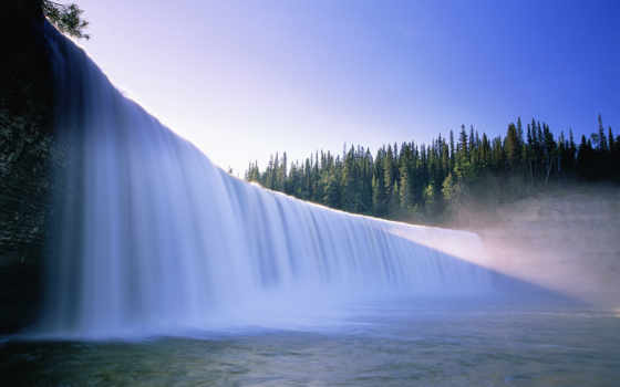 красивые, водопад, самые