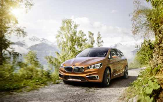 bmw, outdoor, active, tourer, concept,