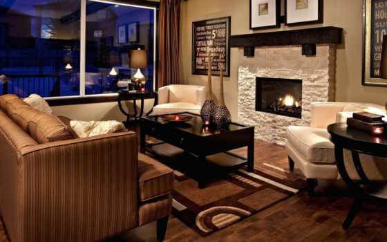 комната, интерьер, камин, design, стиль, камином, интерьеры, гостиной, living, комнаты,