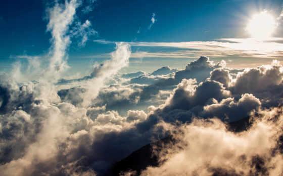 manzara, oblaka, полет, облаках, resimleri, небо, футаж, футажи, mushrooms, doğa,