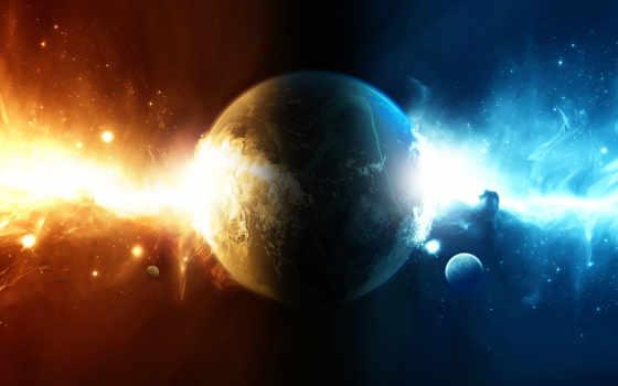 планета и сияние