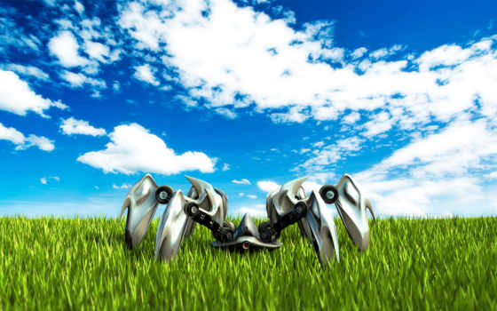 поле, трава, небо Фон № 124794 разрешение 1920x1080