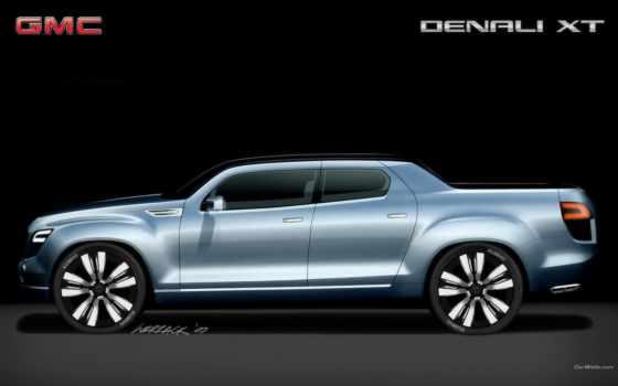 gmc, denali, xt, concept, машины, top, скорость, обзор, truck, car,