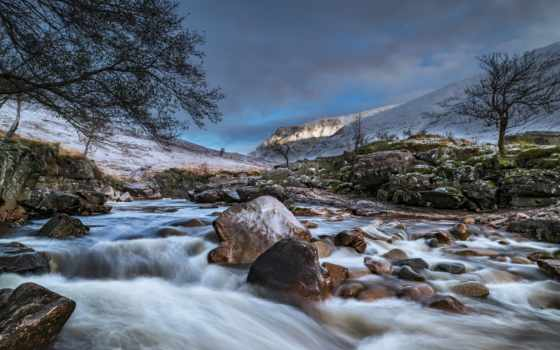 iceland, природа, поток, ручей, река,