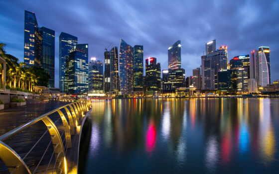 malaysia, singapore, город