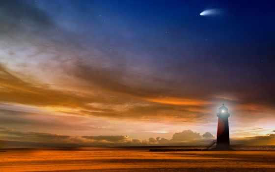 free, небо, вечер, звезды, dans,