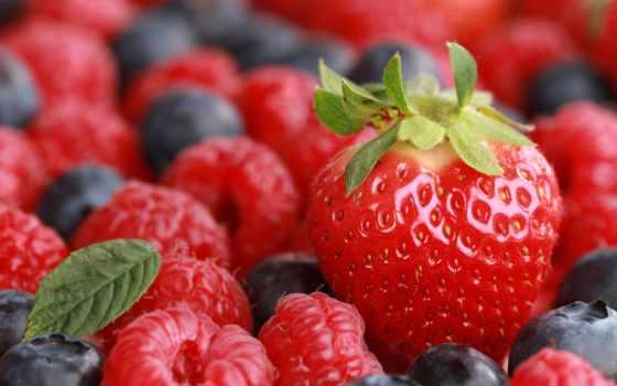 ягоды, черника, малина, клубника, resolution, desktop, tagged, high, еда,