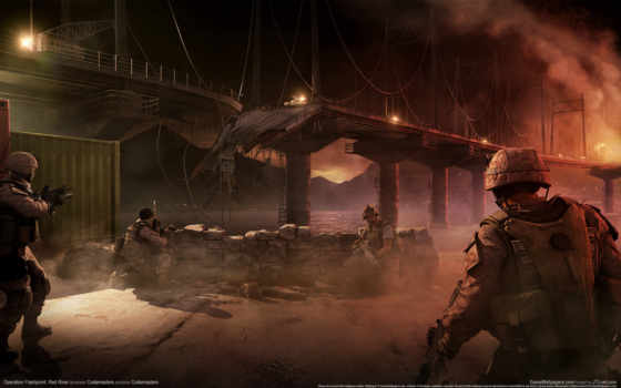 flashpoint, operation, red, река, game,