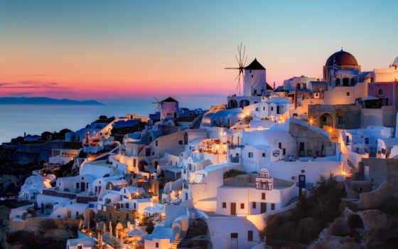 santorini, greece, oia, закат, дома, aigaio, notio, szeke, photography, остров,