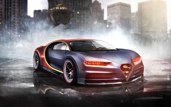 bugatti, chiron, superman Фон № 128078 разрешение 1920x1200