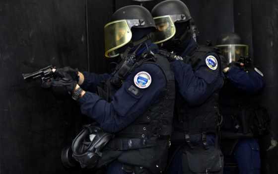 спецназ, бойцы, военные, шлем, оружие, mia, gign, assault, french,