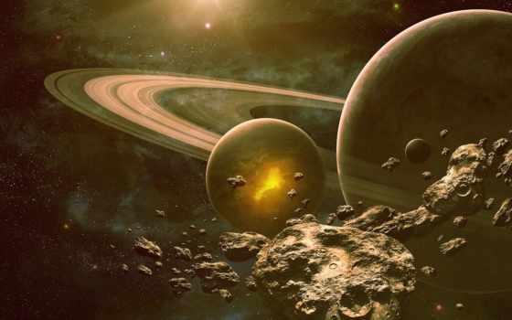 asteroids, космос, planet