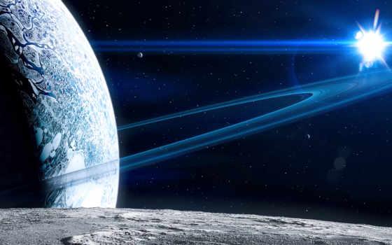 космос, кольца Фон № 24294 разрешение 1680x1050