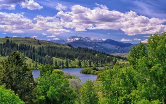 озеро, ozero, пейзаж