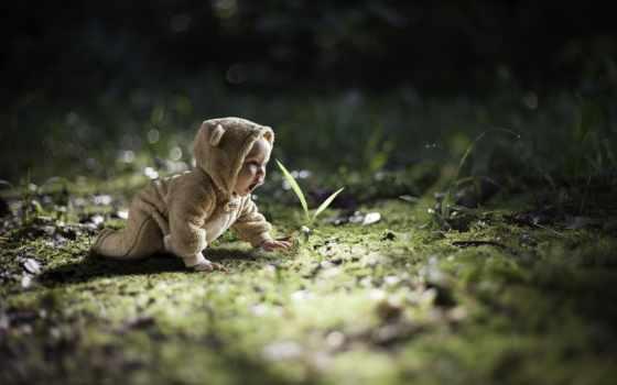 малыш, children, ребенок, природа, разное, детей,