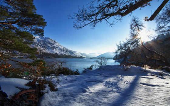 winter, утро, you, this, season, desktop, landscape, garden,