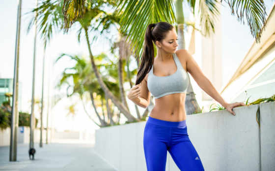 фитнес, девушка, спорт, summer, лицо, breslin, тренировки, janna,