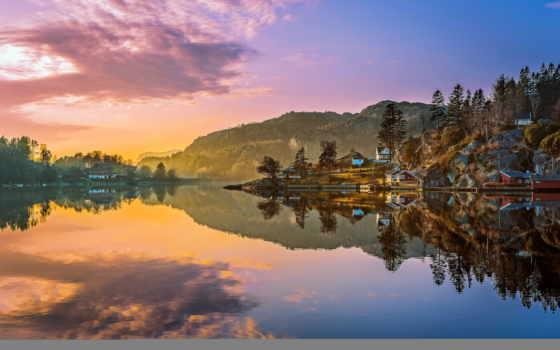 картины, norwegian, landscape, постеры, хосе, озеро, природа, горы, norvegia, норвегия,