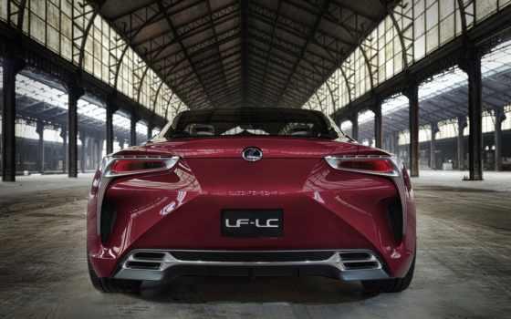 lexus, car, concept, gs,