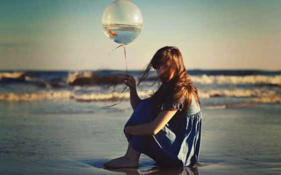 beach, girl, связаться, войдите, чтобы, найти, screensaver, любовная, with, других, balloon, lombardo, francesca,