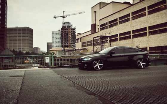 bmw, vossen, black